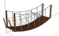 绳索吊桥模型