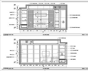 室内卧室立面尺寸图