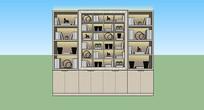 书柜展柜书架现代博古架