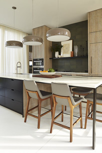 现代简约开放式厨房