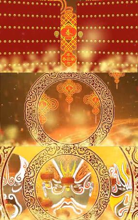 歌曲中国范儿舞台背景视频素材
