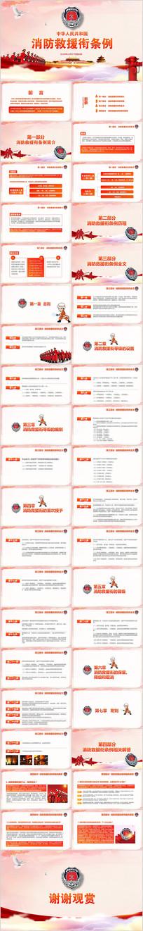 消防救援衔条例ppt