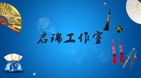 中国风戏曲古典背景图