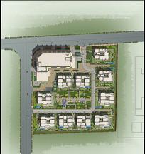 小区规划设计平面图