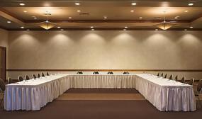 U型会议室意向图