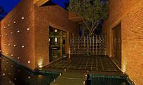酒店小庭院空间