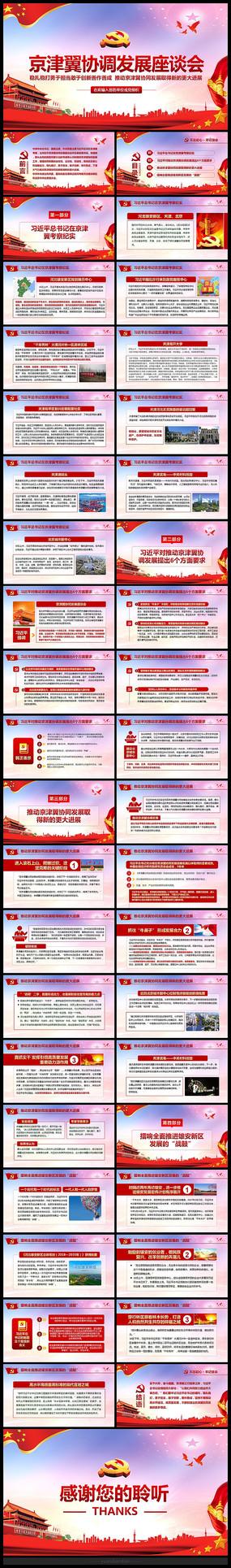 京津冀协同发展课件PPT