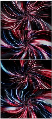 4K柔和光线隧道视频素材