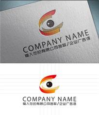 C字母LOGO标志设计