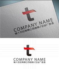 T字母LOGO标志设计