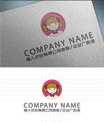 卡通人物吉祥物logo标志