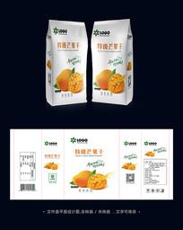 芒果干包装袋设计