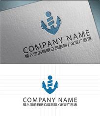锚链航运LOGO标志设计