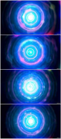 音乐频谱跳动波形音乐背景视频素材