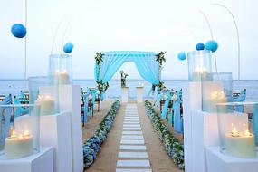 户外婚礼景观