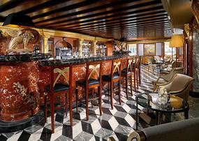 欧式酒吧吧台设计
