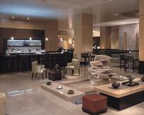 中式禅意餐厅室内装修