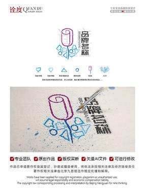 花店logo