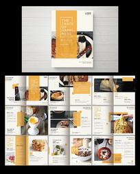面包糕点宣传画册 PSD