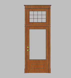 欧式开洞卧室门