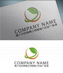 绿色科技LOGO标志设计