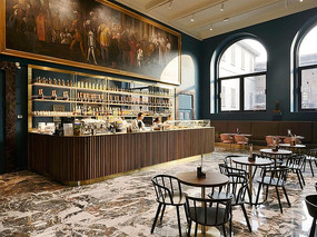 典雅美式酒吧设计 JPG