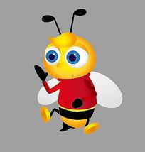 卡通小蜜蜂形象