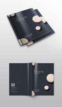 时尚大气品牌画册封面