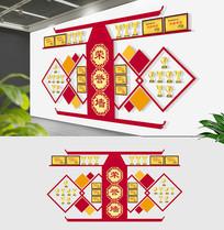 3D企业员工荣誉形象墙