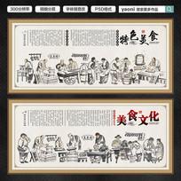 舌尖上的中国挂画