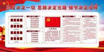 中国风党员之家展板设计