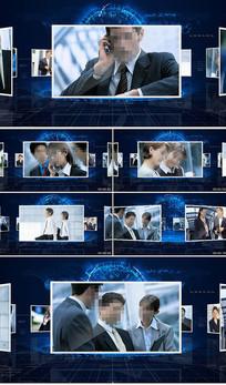 企业图文展示AE模板