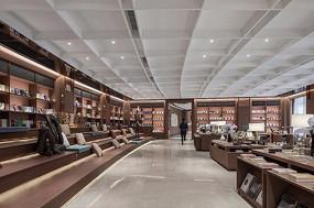 特色现代书店店铺设计