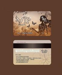美容会员卡设计 AI