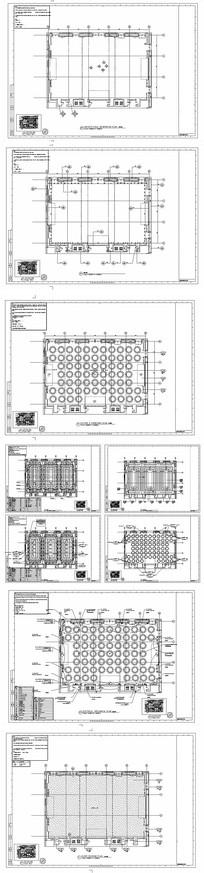 某大型酒店大宴会厅平面图