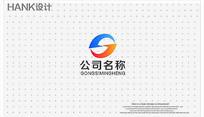 J字母LOGO科技化工标志