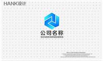 J字母科技建筑化工标志