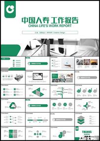 中国人寿保险总结计划PPT