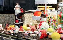 冬日圣诞雪人甜品装饰