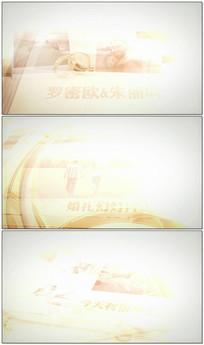 温馨婚礼爱情相册集AE模板