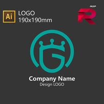 字母G盾牌LOGO