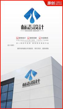 纯净水logo设计商标