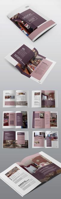 高档家居家装企业宣传画册