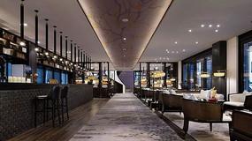 豪华新中式餐厅 JPG