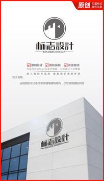 坚强堡垒logo设计商标设计