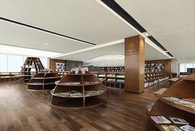 简约现代书店