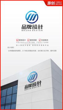 螺旋科技logo设计商标设计 AI