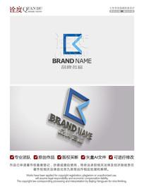字母K金融投资酒店标志OGO