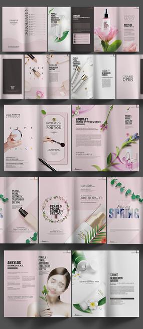时尚化妆品画册模板