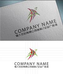 燕子logo创意海报设计
